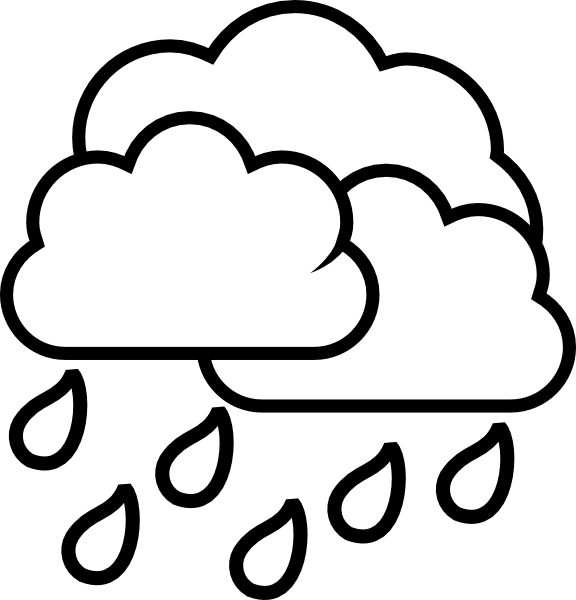 Weather Storm Rain Clip Art At Vector Clip Art Online