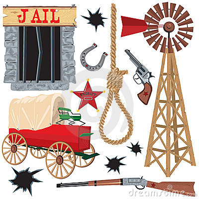 Wild West Clip Art Thumb