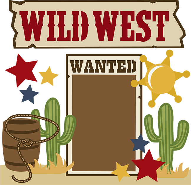 Wild West Clipart Background