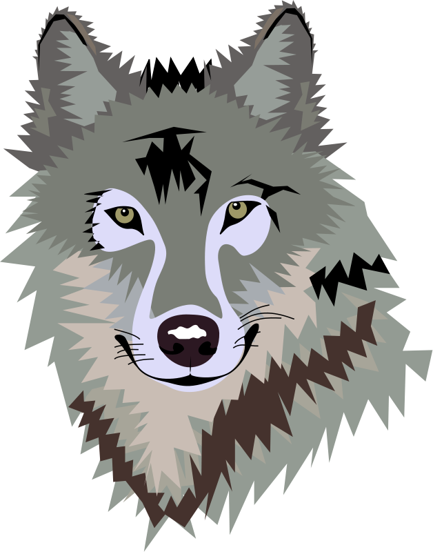 Wolf Clip Art Silhouette Free