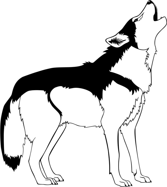 Wolf Clipart Free