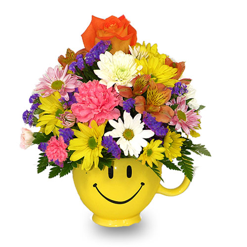 Wylie Flower And Gift Rainbow Smiles Same Day Delivery Real Local