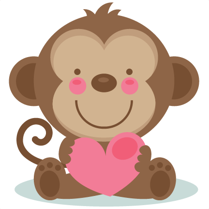 Animal Valentines Clipart