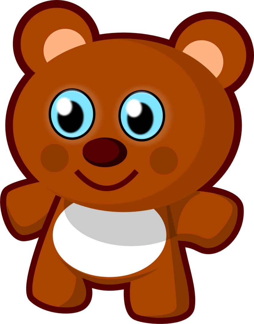 Clip Art Cute Bear Teddy Bear Animal Clipart