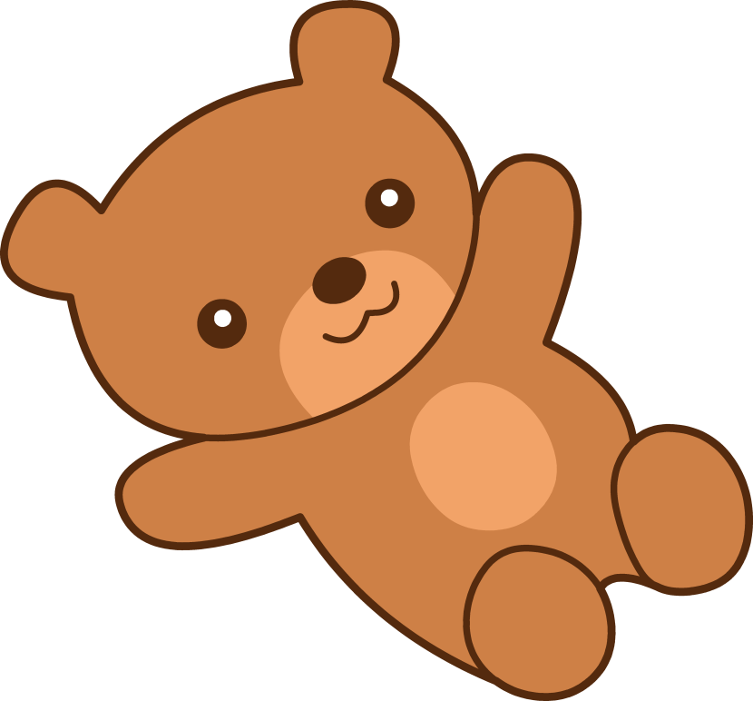 Cute Brown Teddy Bear Clipart Free Clip Art