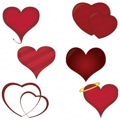 Hearts Valentine's Clipart - Clipartion.com