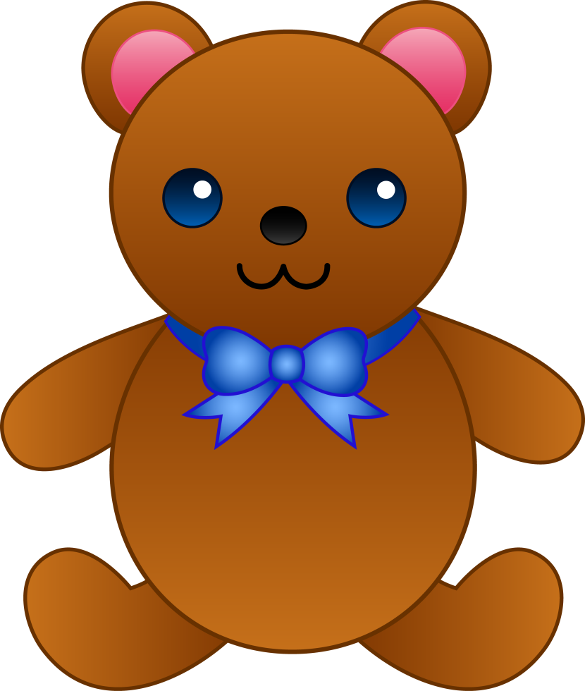 Pink Teddy Bear Clipart Free