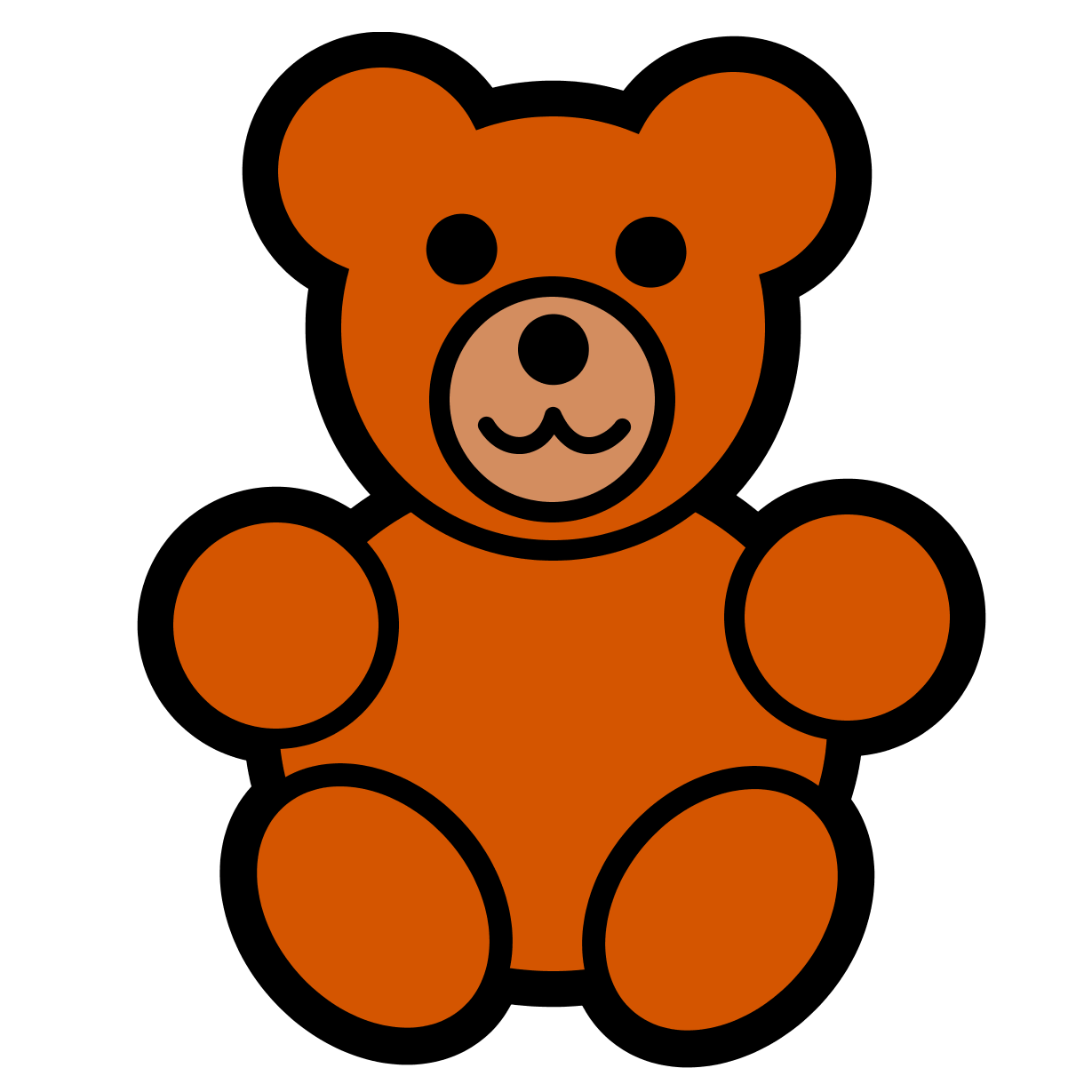 Teddy Bear Clip Art Large Images Free