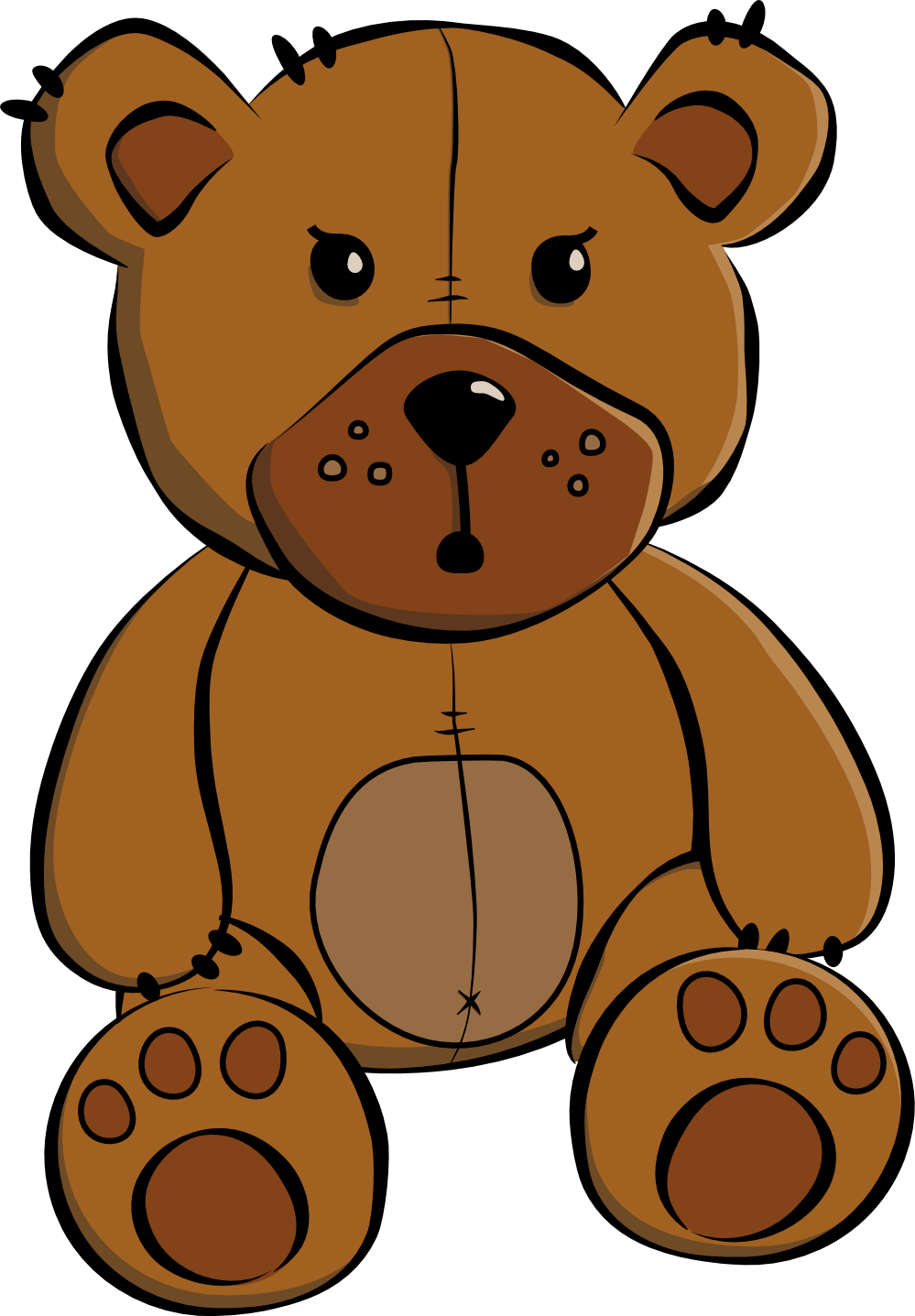 Teddy Bear Clipart Free