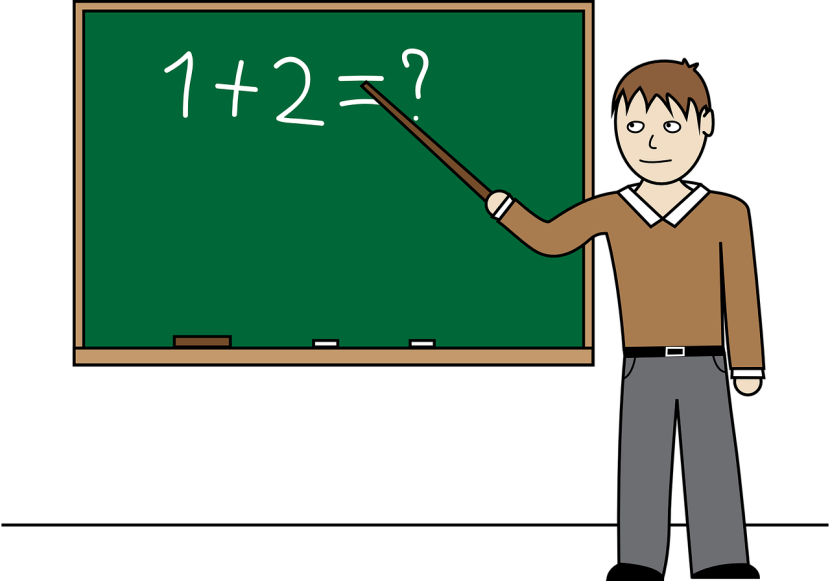 Best Math Teacher Clipart