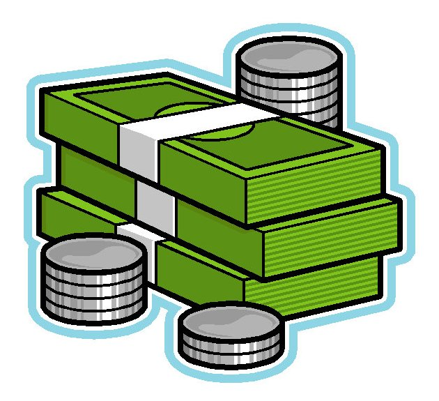 Clipart Money Bills Images