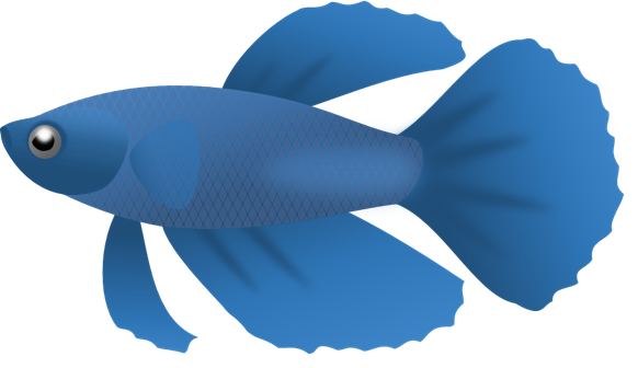 Free Blue Fish Clipart Images