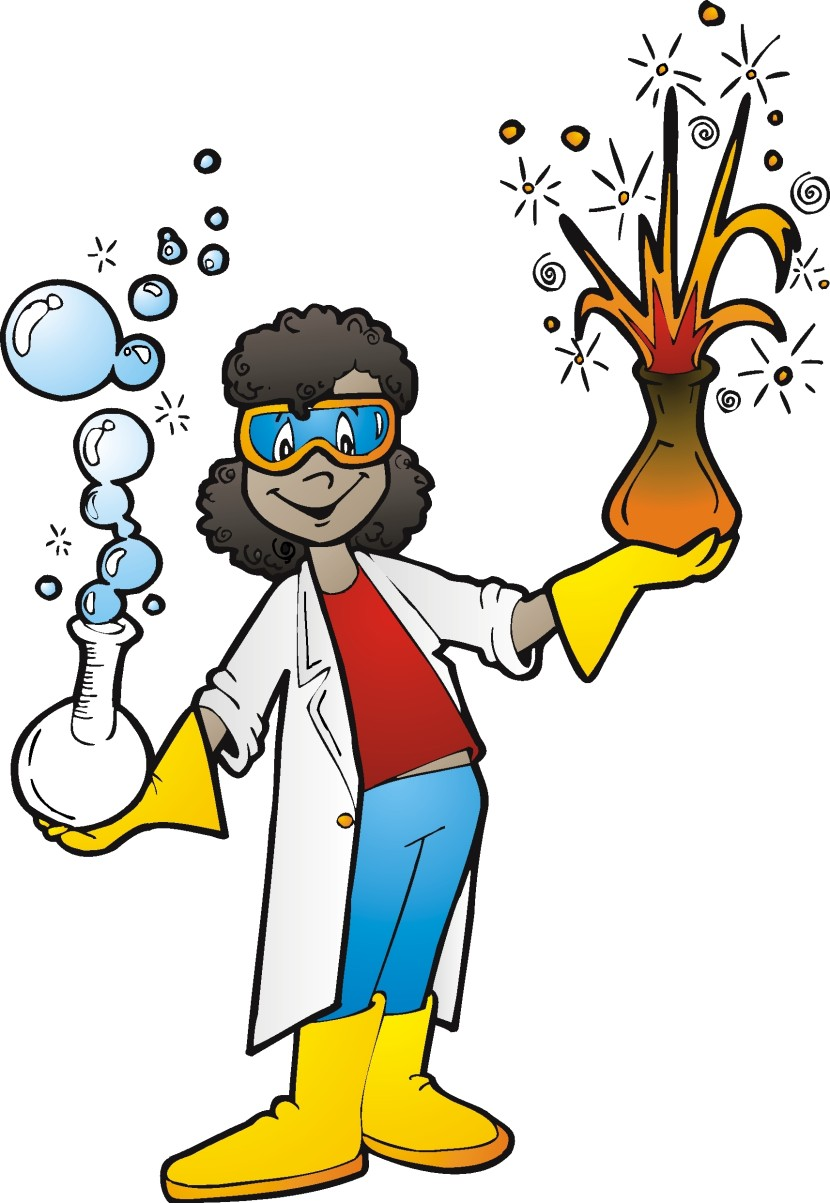 Free Image of Science Teacher Clipart