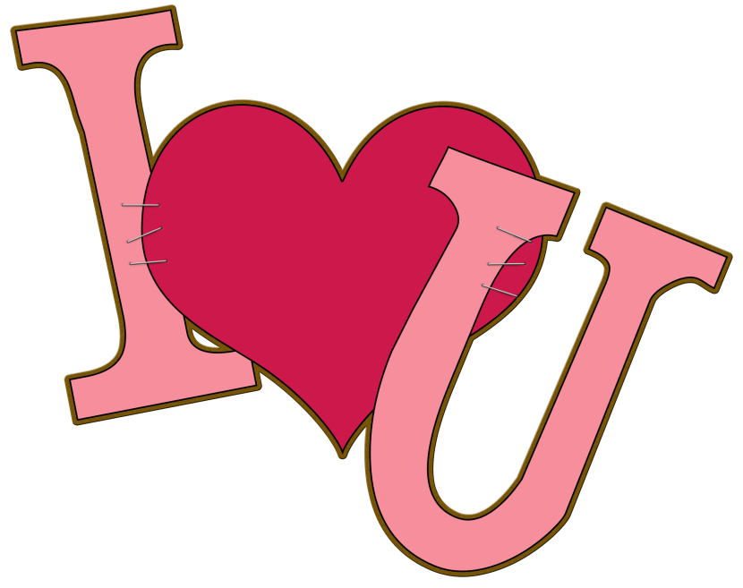 Best I Love You Clipart #24719 - Clipartion.com