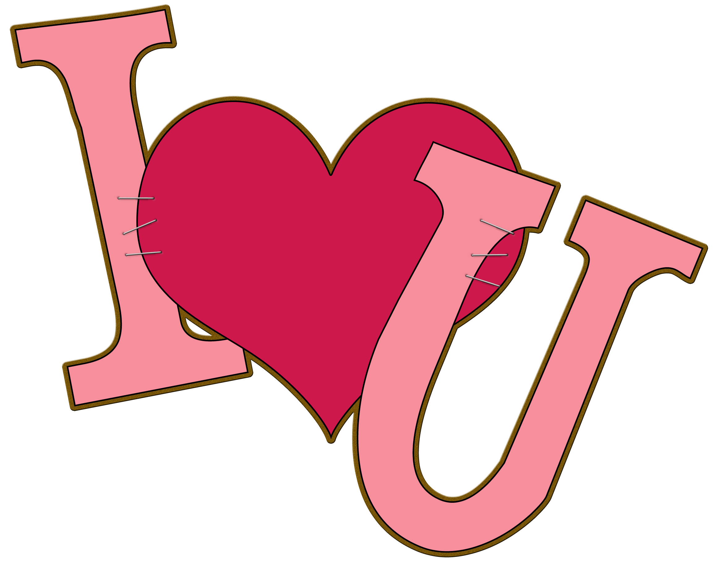 I Love You Clipart Free