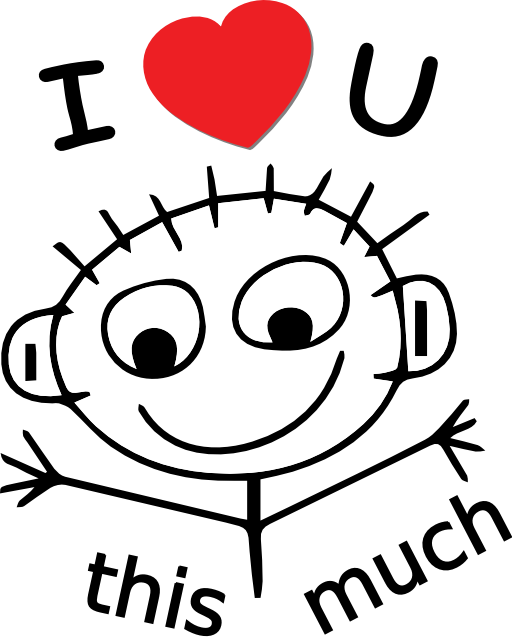 Best I Love You Clipart #24727 - Clipartion.com