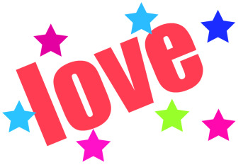 Love Clip Art The Word Love Clipart