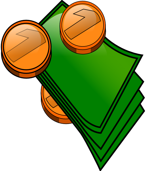Money Coins And Bills Bills Clipart Free Clipart Images
