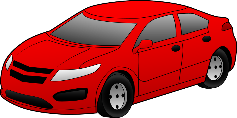 Speeding Car Clipart Free