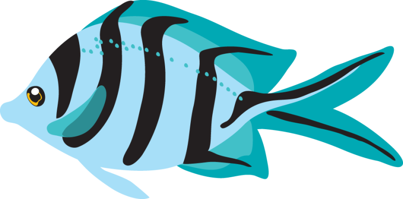 Clip Art Fish Clip Art Free best blue fish clipart 24743 clipartion com tropical free