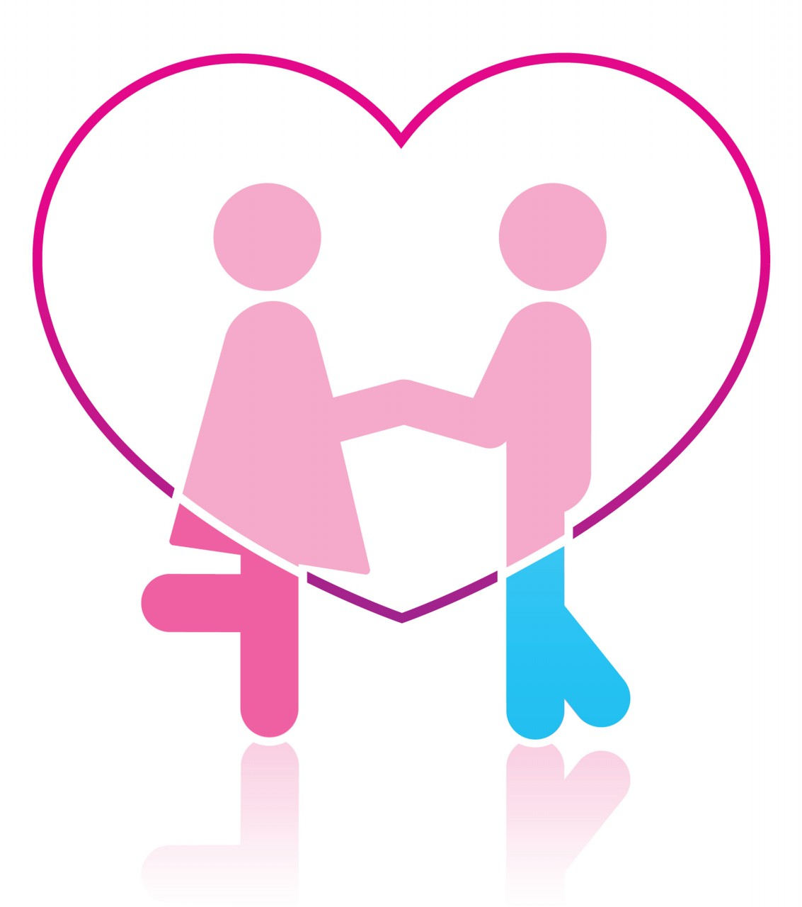 Two People In Love Clipart Free