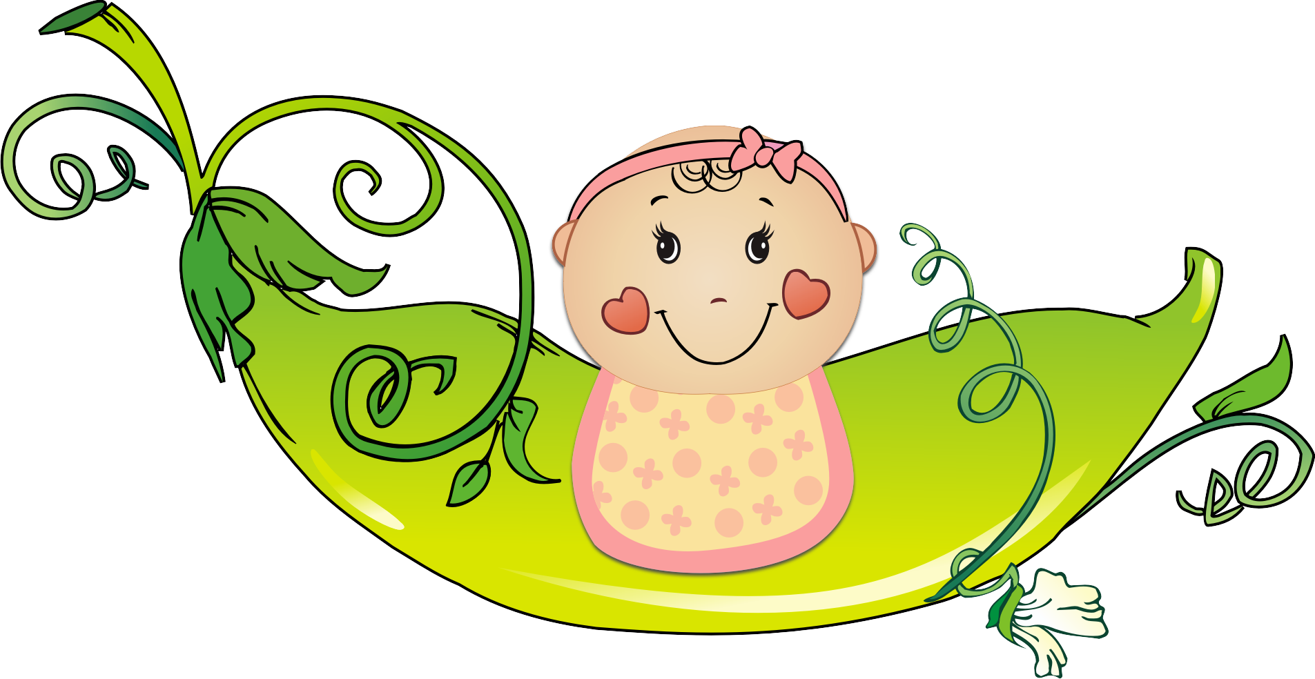 Best Baby Girl Clipart #27593 - Clipartion.com