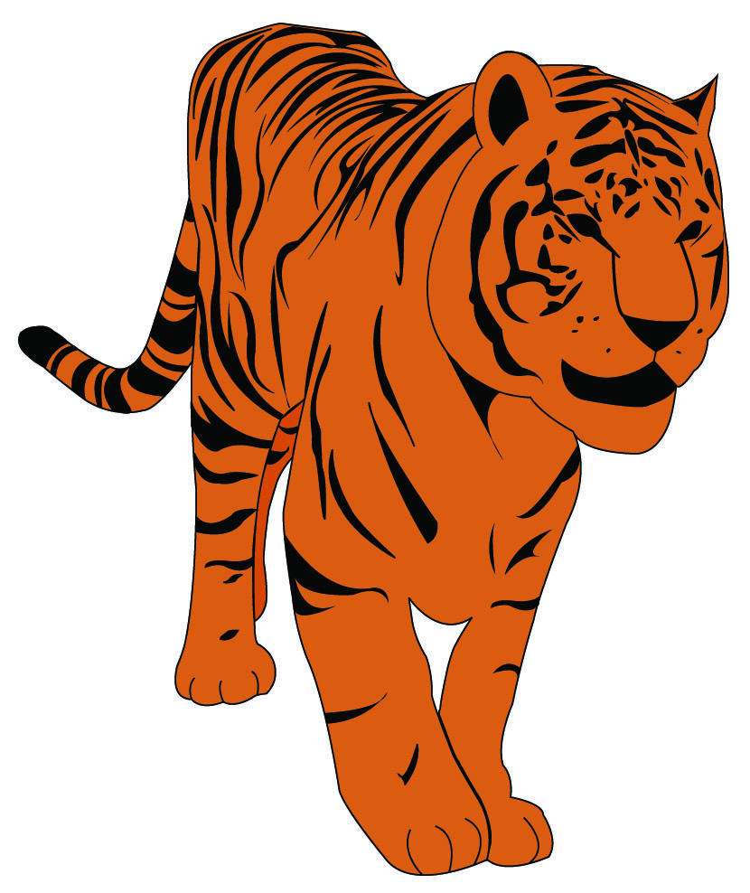 Baby Tiger Clipart