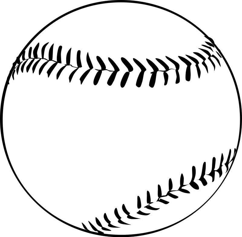 Baseball Sports Clipart Free Clipart