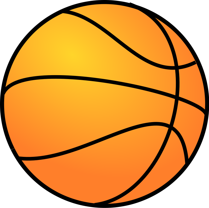 Basket Ball Clipart