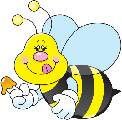 Bee Clipart Free Bee Drawings And Colorful
