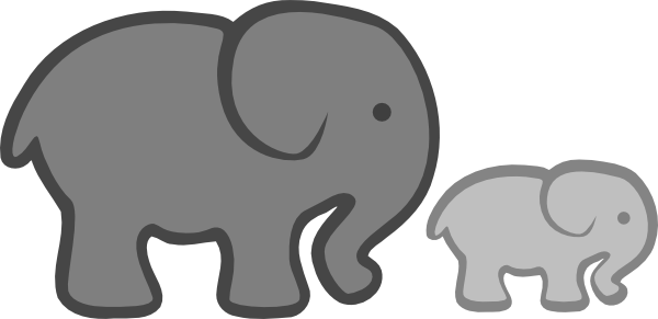 Best Baby Elephant Clipart 6 Animated Elephant