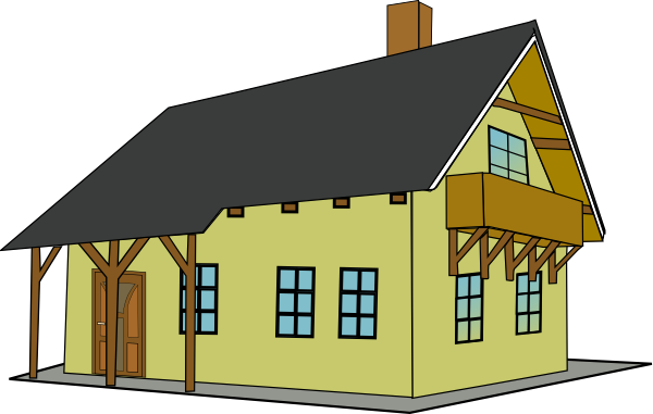 Best House Clipart House Free Vector Clipartoons