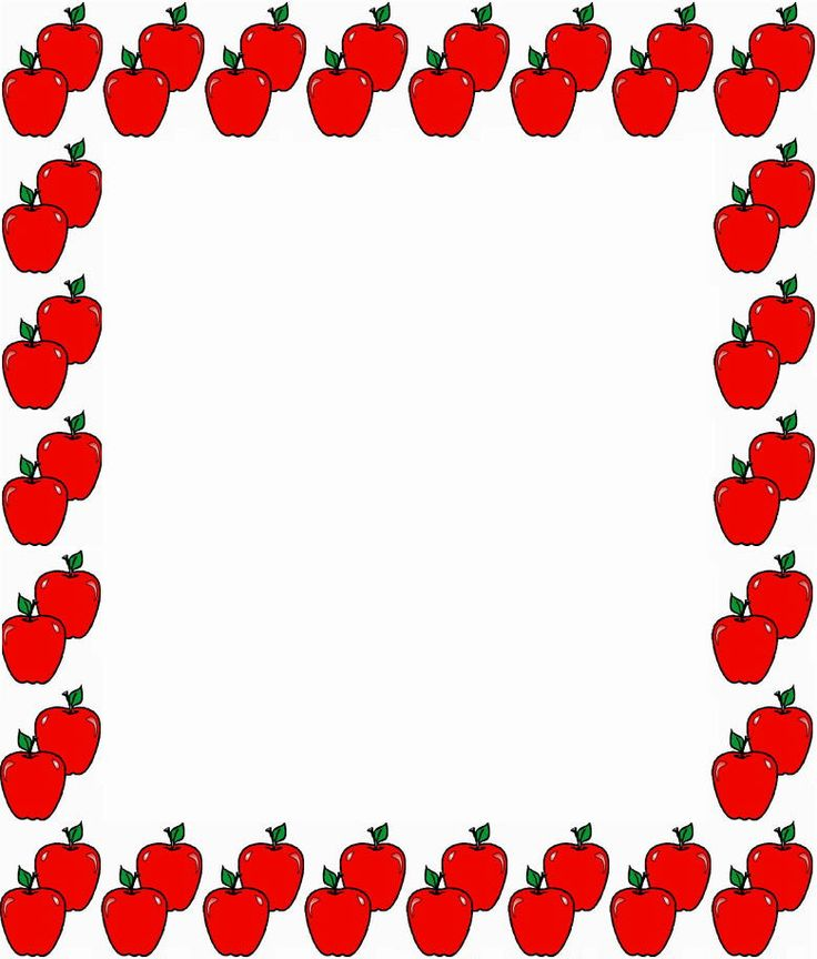 Best School Clipart Borders Free School Back To