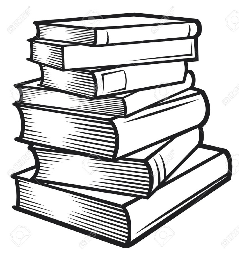 Best Stack Of Books Clipart Clipartion Com
