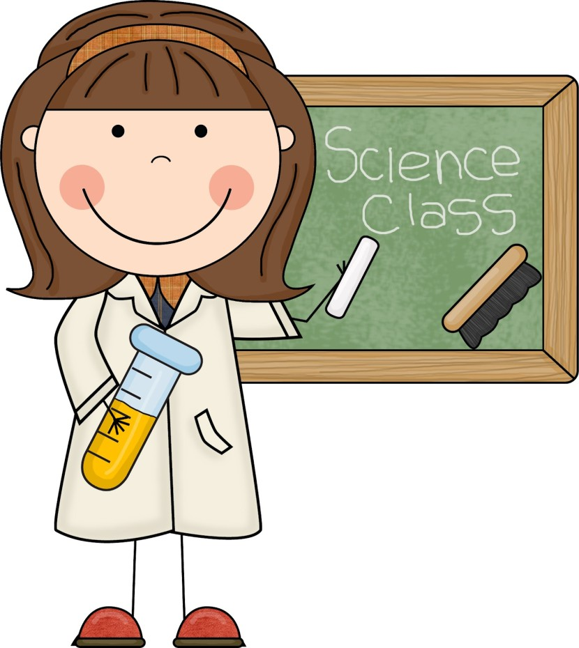 Best Teacher Science Teacher Clipart