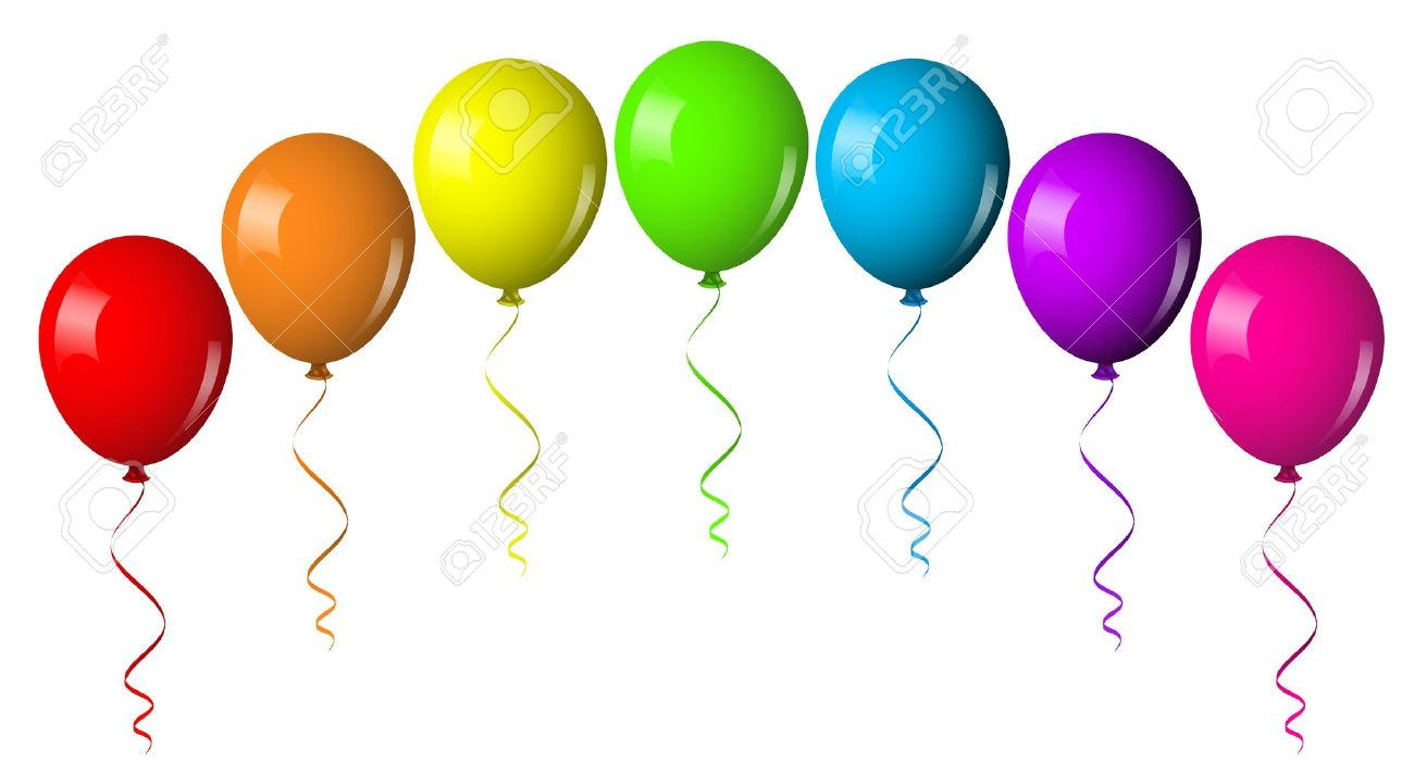 Best Birthday Balloons Clipart 27316 Clipartion Com
