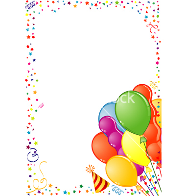 Birthday Borders And Frames Clipart