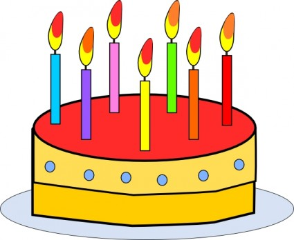 Birthday Cake Free Vector In Open Office Drawing