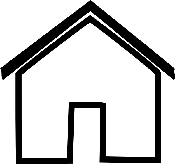 Best House Outline Clipart #27254 - Clipartion.com