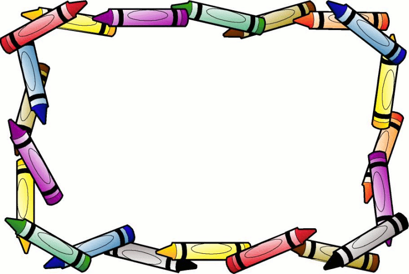 Borders Book Border Free Education Clipart