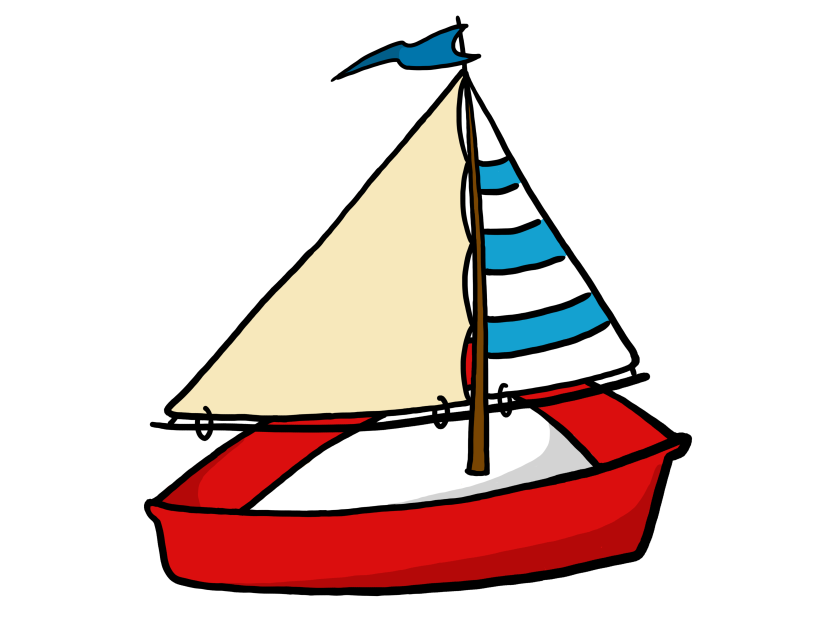 Cartoon Boat Clipart