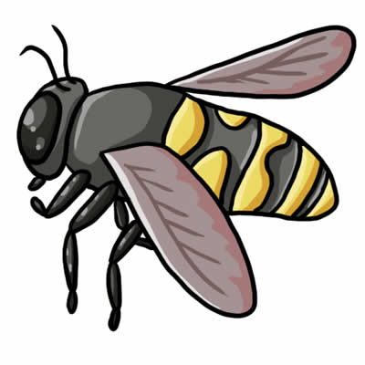 Cartoon Bumble Bee Clipart