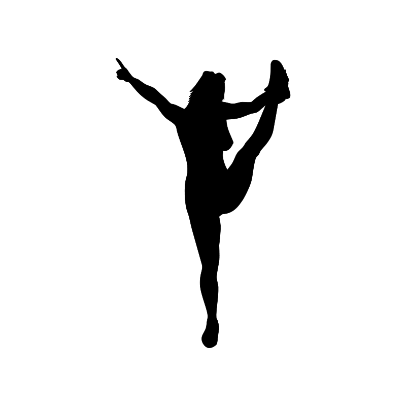 Cheerleading Silhouette