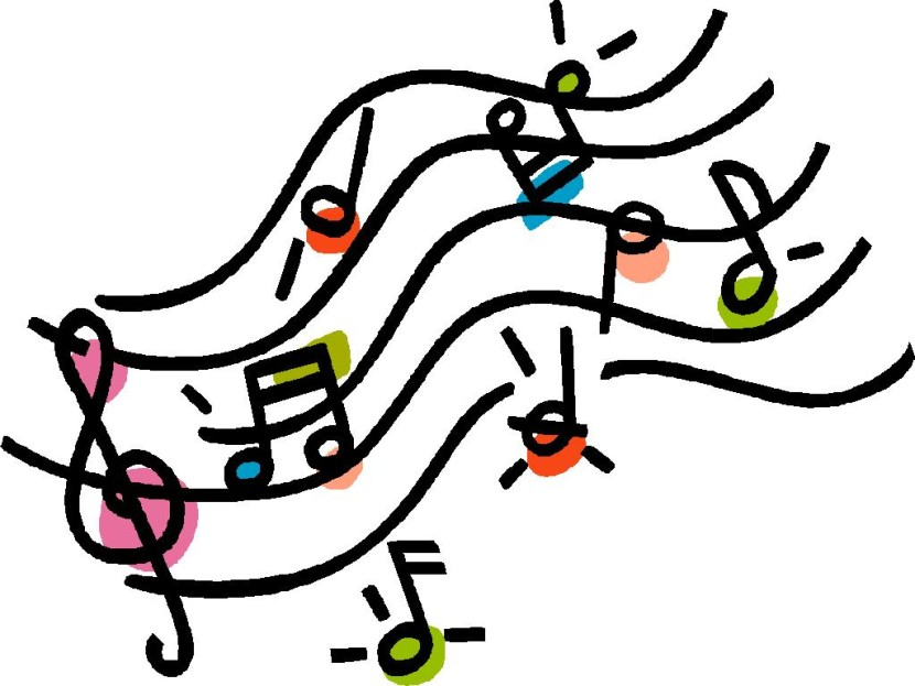 Christmas Music Note Clip Art