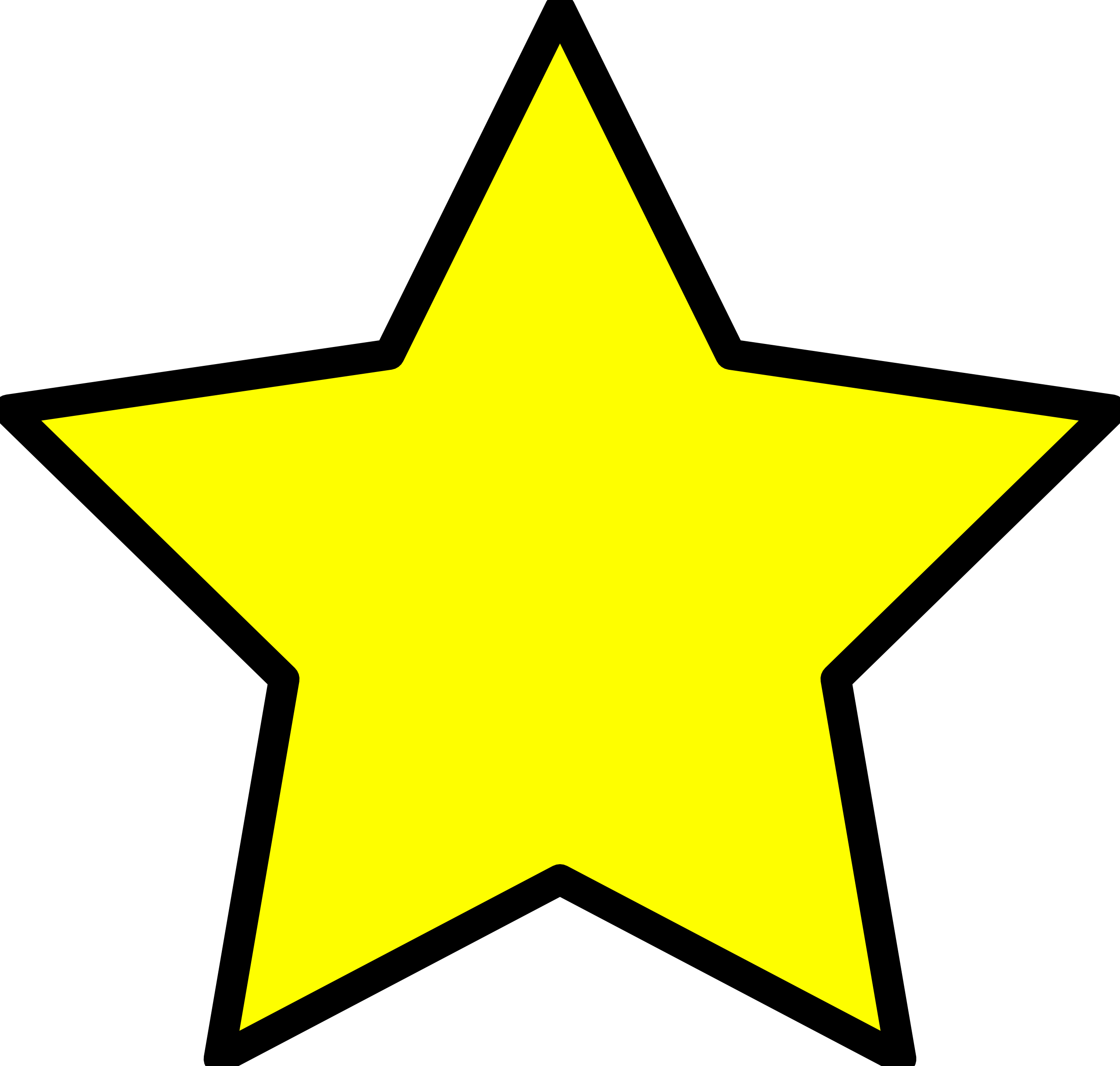Star For A Christmas Tree: Best Gold Star Clipart #27785