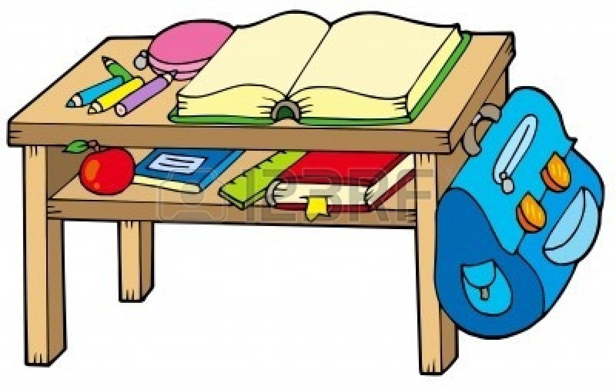 Classroom Table Clipart Free