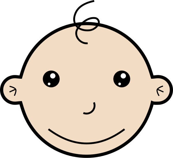 Clipart Baby Face