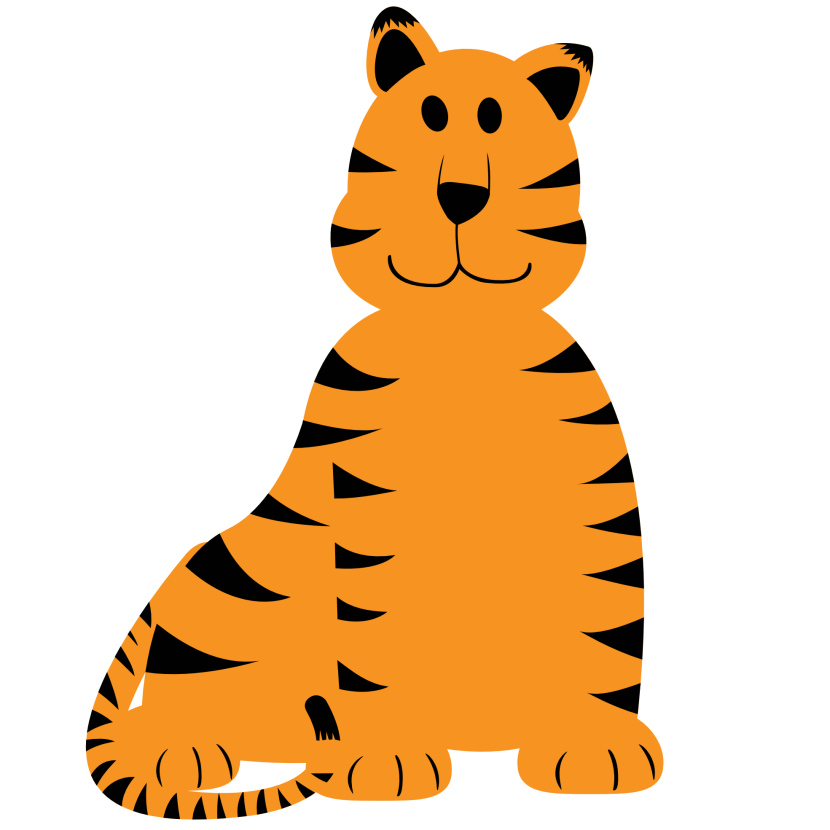 Clipart Face Of Tiger