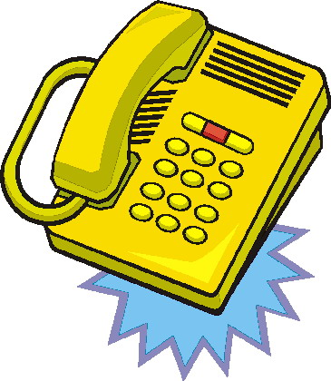 Clipart Telephone