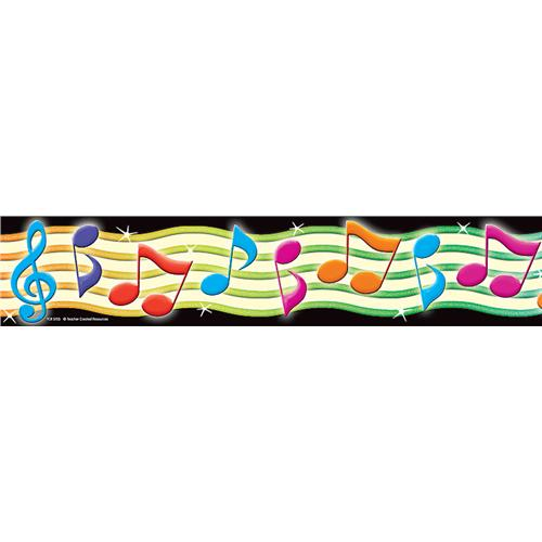 Colorful Music Clipart Border
